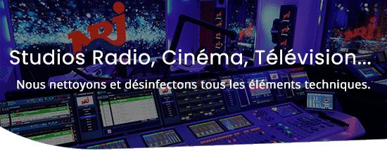 colibri nettoyage - Studio, régie, cinéma, télévision